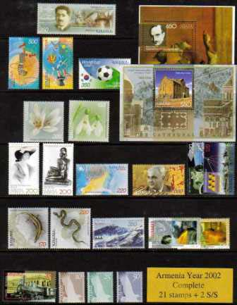 <font 1-281x><font color=red>2002 Complete Year Set. </font> Click for more