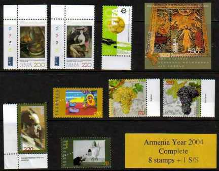 <font 1-305k><font color=red>2004 Complete Year Set. </font> Click for more