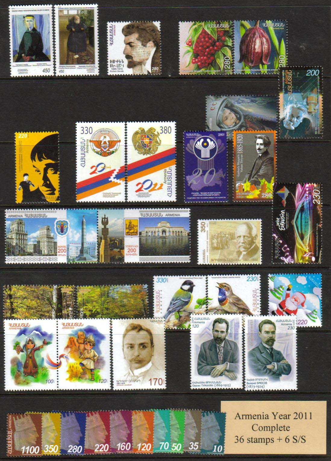 <font =1-556m><font color=red>2011 Complete Year Set. </font> Click for more