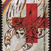 "<Font 1-093> 093, Armenian Red Cross, 75th Anniversary.  Scott #528<p> <a href=""/shop/catalog/images/ArmenianStamps-093.jpg"">   <font color=green><b>View the image</b></a></font>"