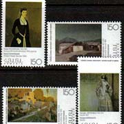 "<font 1-118>118-121, Paintings from the National Gallery of Armenia, 1st issue Scott #553-6<p> <a href=""/shop/catalog/images/ArmenianStamps-118-121.jpg"">   <font color=green><b>View the image</b></a></font>"