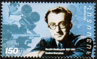 "<font 1-122> 122, Rouben  Mamulian, Motion Picture Director Scott #557<p> <a href=""/shop/catalog/images/ArmenianStamps-122.jpg"">   <font color=green><b>View the image</b></a></font>"