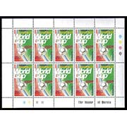 "<font 4-141>141, 1998 World Soccer Cup, Complete perforated sheetlet of 10, Scott #576<p> <a href=""/shop/catalog/images/ArmenianStamps-141-Sheet.JPG"">   <font color=green><b>View the image</b></a></font>"