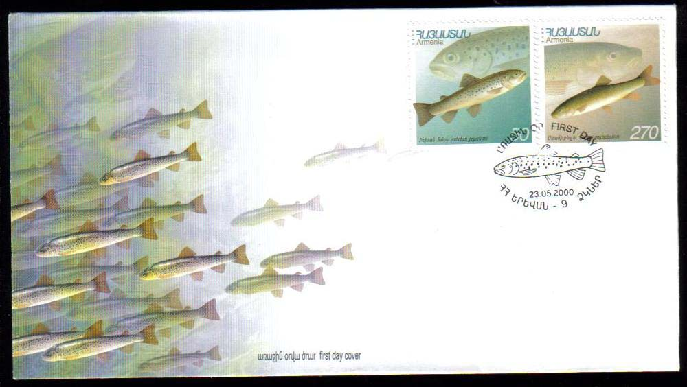 "<font 2-176f>176, FDC, Fish, Scott #606-7<p> <a href=""/images/ArmenianStamps-176-177-FDC.jpg"">   <font color=green><b>View the image</b></a></font>"