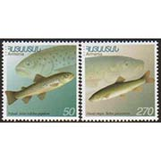 "<font 1-176a>176-7, Domestic Armenian Fish Scott #606-7<p> <a href=""/shop/catalog/images/ArmenianStamps-176-177.jpg"">   <font color=green><b>View the image</b></a></font>"