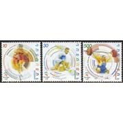 "<font 1-187a>187-9, Sydney 2000, Summer Olympic Games.  Scott #613-5<p> <a href=""/shop/catalog/images/ArmenianStamps-187-189.jpg"">   <font color=green><b>View the image</b></a></font>"