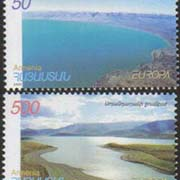"<font 1-236a>236-7, Europa 2001, Water as a Natural Treasure, Scott #629-30<p> <a href=""/shop/catalog/images/ArmenianStamps-236-237.jpg"">   <font color=green><b>View the image</b></a></font>"