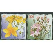 "<font 1-257a>257-8, Medical plants flowers of Armenia,  First issue Scott #645-6<p> <a href=""/shop/catalog/images/ArmenianStamps-257-258.jpg"">   <font color=green><b>View the image</b></a></font>"