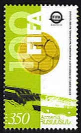 "<font 1-299a>299, FIFA, 100th Anniversary Scott #687<p> <a href=""/shop/catalog/images/ArmenianStamps-299.jpg"">   <font color=green><b>View the image</b></a></font>"