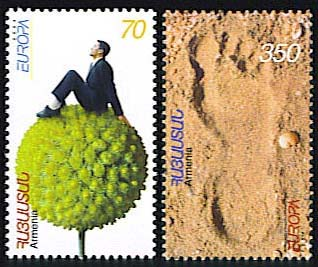 "<font 1-315a>315-16, Europa Holidays (2004 issue), Scott #703-4. <font color=red>Sold Out </font>  <p> <a href=""/shop/catalog/images/ArmenianStamps-315-316.jpg"">   <font color=green><b>View the image</b></a></font>"