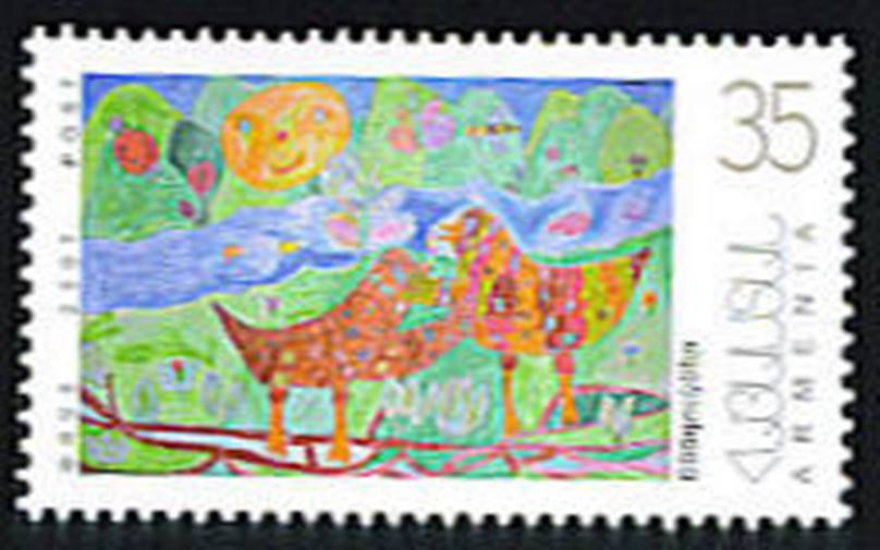 <font 1-416a>416, Childrens' Paintings.  Scott #760. <p> <a href=&quot;/shop/catalog/images/ArmenianStamps-416.jpg&quot;>   <font color=green><b>View the image</b></a></font>
