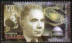 "<font 1-445a>445, Victor Hambardzumian, Astrophysicist, Birth Centennial, Scott #788. <p> <a href=""/shop/catalog/images/ArmenianStamps-445.jpg"">   <font color=green><b>View the image</b></a></font>"