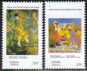<font 1-473a>473-4, Paintings from the National Gallery, set of 2 stamps. Scott #813-814<br> Date of Issue: Dec. 16, 2009<br> <a href=&quot;/shop/catalog/images/ArmenianStamps-473-474.jpg&quot;>   <font color=green><b>View the image</b></a></font>