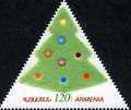 <font 1-479a>479, New Year, the first triangle stamp of Armenia. Scott #818 <font color=red>Limit 1 piece per order</font> <br>Single stamp<br> Date of Issue: Dec. 18, 2009<br> <a href=&quot;/shop/catalog/images/ArmenianStamps-479.jpg&quot;>   <font color=green><b>View the image</b></a></font>