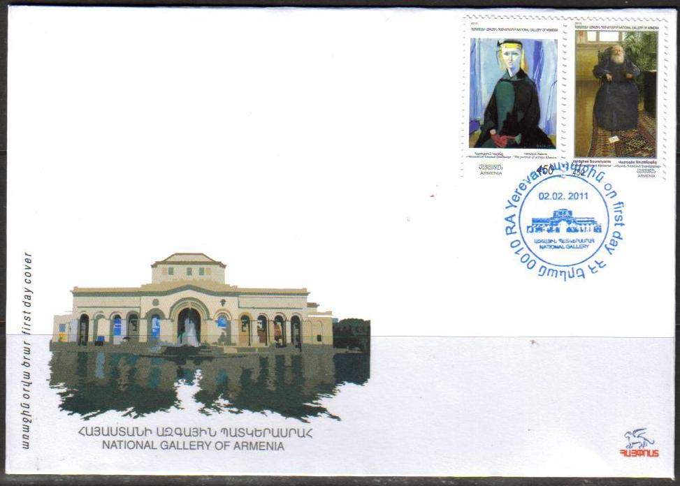 <font =2-10f>511-2, National Gallery Paintings.  Scott #866-867 <br>Official FDC<br>Date of Issue: Feb. 2, 2011<br> <a href=&quot;/images/ArmenianStamps-511-512-FDC.jpg&quot;>   <font color=green><b>View the image</b></a></font>