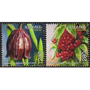 "<font =1-19a>518-9, Fruits of Armenia,  Scott #870-1 <br>A set of 2 stamps.<br>Date of Issue: Feb. 2, 2011<br> <a href=""/images/ArmenianStamps-518-519.jpg"">   <font color=green><b>View the image</b></a></font>"