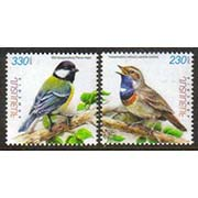 "<font =1-542a>542-3, Flora and Fauna of Armenia, (Luscinia Svecica and Parus major), Birds, Scott #880-881 <br>A set of 2 stamps<br>Date of Issue: September 05, 2011<br> <a href=""/images/ArmenianStamps-542-543.jpg"">   <font color=green><b>View the image</b></a></font>"