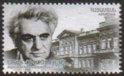 "<font =1-595>595, Ashot Hovhannisyan, Academician, a single stamp, Scott #921 <br>Date of Issue: December 5, 2012 <br> <a href=""/images/ArmenianStamps-595.jpg"">   <font color=green><b>View the image</b></a></font>"