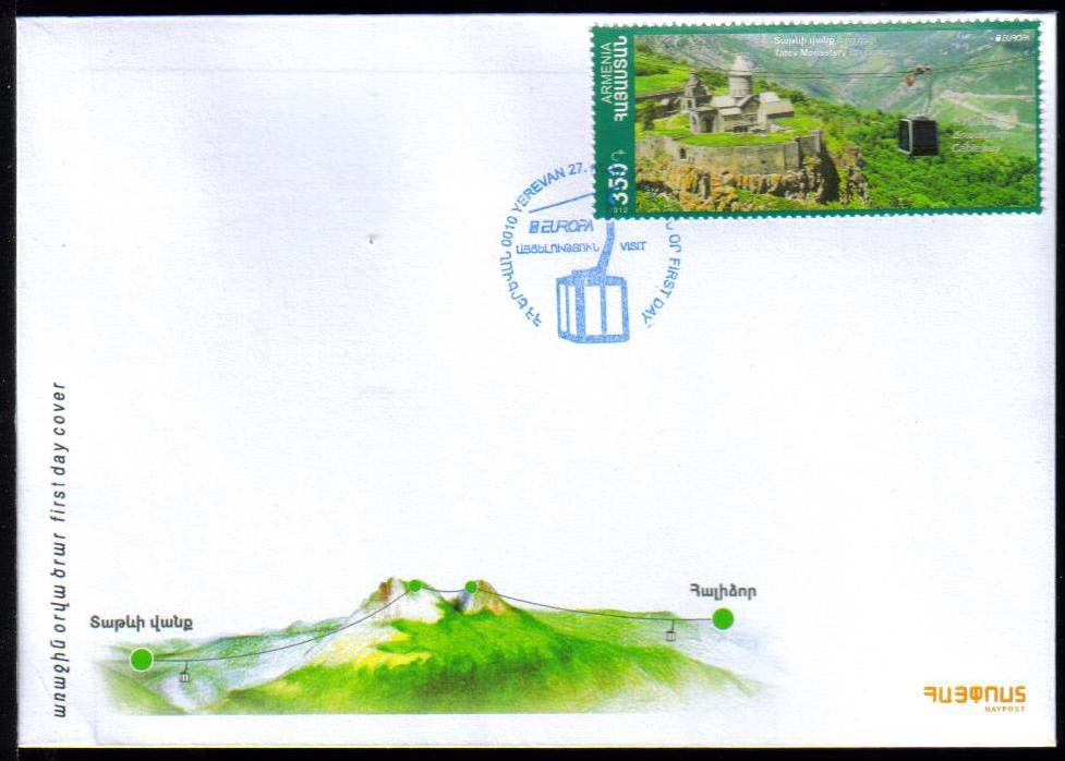 <font =2-599>599, Europa 2012, Visit, Official FDC, Scott #928 <br>Date of Issue: December 27, 2012 <br> <a href=&quot;/images/ArmenianStamps-599-FDC.jpg&quot;>   <font color=green><b>View the image</b></a></font>
