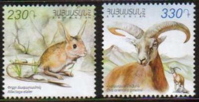 "<font =1-606>606-7, Animals of Armenia 2012 issue, set of 2, Scott #934-935 <br>Date of Issue: December 28, 2012 <br> <a href=""/images/ArmenianStamps-606-607.jpg"">   <font color=green><b>View the image</b></a></font>"