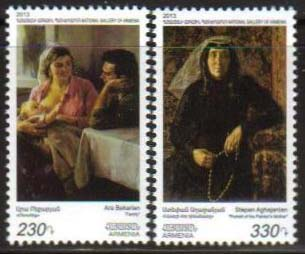 "<font =1-640>640-641, Paintings from the National Gallery, set of 2 stamps, Scott #963-964 <br>Date of Issue: -----      <br> <a href=""/images/ArmenianStamps-640-641.jpg"">   <font color=green><b>View the image</b></a></font>"