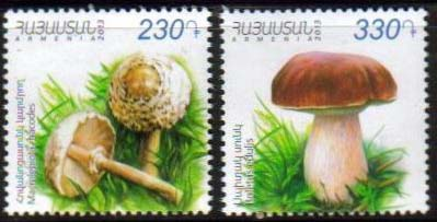 "<font =1-642>642-643, Mushrooms, set of 2 single stamps, Scott #965-966 <br>Date of Issue: -----      <br> <a href=""/images/ArmenianStamps-642-643.jpg"">   <font color=green><b>View the image</b></a></font>"