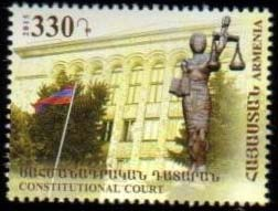 "<font =1-730>730, Constitutional Court, 20th Anniversary, Scott #1044 <br>Date of Issue: Oct. 8<br> <a href=""/images/ArmenianStamps-730.jpg"">   <font color=green><b>View the image</b></a></font>"