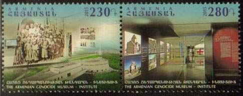 "<font =1-734>734-735, Centennial of the Armenian Genocide, the Genocide Museum, set of 2, Scott #1047 <br>Date of Issue: Nov 21<br> <a href=""/images/ArmenianStamps-734-735.jpg"">   <font color=green><b>View the image</b></a></font>"