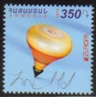 <font =1-741>741, EUROPA, Old Toys, single stamp, Scott #1053 <br>Date of Issue: Dec 28<br> <a href=&quot;/images/ArmenianStamps-741.jpg&quot;>   <font color=green><b>View the image</b></a></font>
