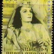 "<font =1-769>769, Tatevik Sazandarian, Opera Singer, a single stamp, Scott #1076 <br>Date of Issue: October 4<br> <a href=""/images/ArmenianStamps-769.jpg"">   <font color=green><b>View the image</b></a></font>"