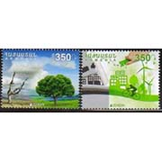 "<font =1-777>777-778, Europa, Think Green, set of 2 se-tenant, Scott #1082 <br>Date of Issue: Dec 1<br> <a href=""/images/ArmenianStamps-777-778.jpg"">   <font color=green><b>View the image</b></a></font>"