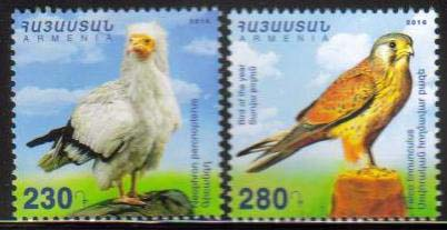 <font =1-788>788-789, Birds of Armenia, set of 2, Scott #1092-1093 <br>Date of Issue: Dec 29<br> <a href=&quot;/images/ArmenianStamps-788-789.jpg&quot;>   <font color=green><b>View the image</b></a></font>