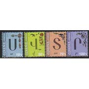 "<font =1-798>798-801, The Armenian Alphabet, 4 more characters, Scott #1100-1103 <br>Date of Issue: June 2<br> <a href=""/images/ArmenianStamps-798-801.jpg"">   <font color=green><b>View the image</b></a></font>"