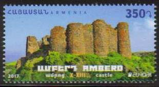 "<font =1-803>803, Europa, Amberd Castle, Scott #1105 <br>Date of Issue: July 10<br> <a href=""/images/ArmenianStamps-803.jpg"">   <font color=green><b>View the image</b></a></font>"