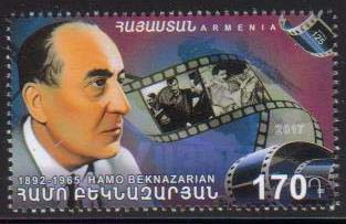 <font =1-804>804, Hamo Beknazarian, Film Director, Scott #1106 <br>Date of Issue: July 13<br> <a href=&quot;/images/ArmenianStamps-804.jpg&quot;>   <font color=green><b>View the image</b></a></font>