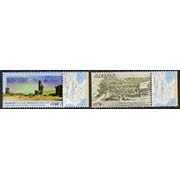 "<font =1-828>828-829, Historic Capitals of Armenia (Shirakavan and Kars), Set of 2, Scott #1121-1122 <br>Date of Issue: December 12<br> <a href=""/images/ArmenianStamps-828-829.jpg"">   <font color=green><b>View the image</b></a></font>"