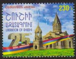 "<font =1-834>834, Liberation of Shushi, 25th Anniversary, Scott #1127 <br>Date of Issue: December 28<br> <a href=""/images/ArmenianStamps-834.jpg\"">   <font color=green><b>View the image</b></a></font>"