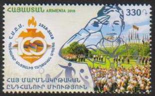 "<font =1-856>856, Scouting in Armenia, 100th Anniversary, Scott #1146 <br>Date of Issue: July 26<br> <a href=""/images/ArmenianStamps-856.jpg"">   <font color=green><b>View the image</b></a></font>"