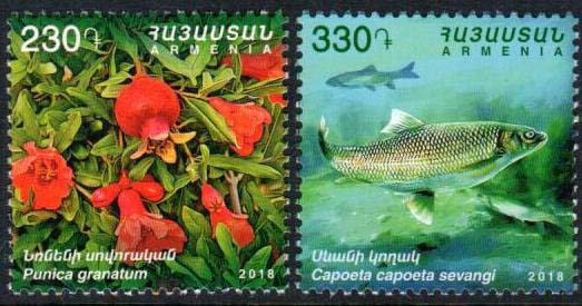 "<font =1-881>881-882, Preserving the Nature in Armenia, Scott #1166-1167 <br>Date of Issue: Dec 19<br> <a href=""/images/ArmenianStamps-881-882.jpg"">   <font color=green><b>View the image</b></a></font>"
