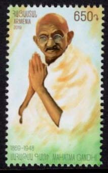 "<font =1-905>905, Mahatma Gandhi, 150th anniversary of birth, Scott #1189  <br>Date of Issue: May 23<br> <a href=""/images/ArmenianStamps-905.jpg"">   <font color=green><b>View the image</b></a></font>"