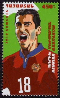 "<font =1-906>906, Henrikh Mkhitaryan, footbalist, Scott #1190  <br>Date of Issue: June 4<br> <a href=""/images/ArmenianStamps-906.jpg"">   <font color=green><b>View the image</b></a></font>"