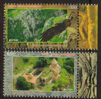 <Font 1-075><br>Nagorno Karabakh #75-76, 2012 Europa, Visit,<br>A set of 2 stamps<br><a href=&quot;/images/KA-075-076.jpg&quot;>   <font color=green><b>View the image</b></a></font><br>