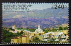 "<Font 1-102>Nagorno Karabakh #102, 2014 issue, Joint issue with Armenia, A single stamp<br><a href=""/images/KA-102.jpg\"">   <font color=green><b>View the image</b></a></font>"