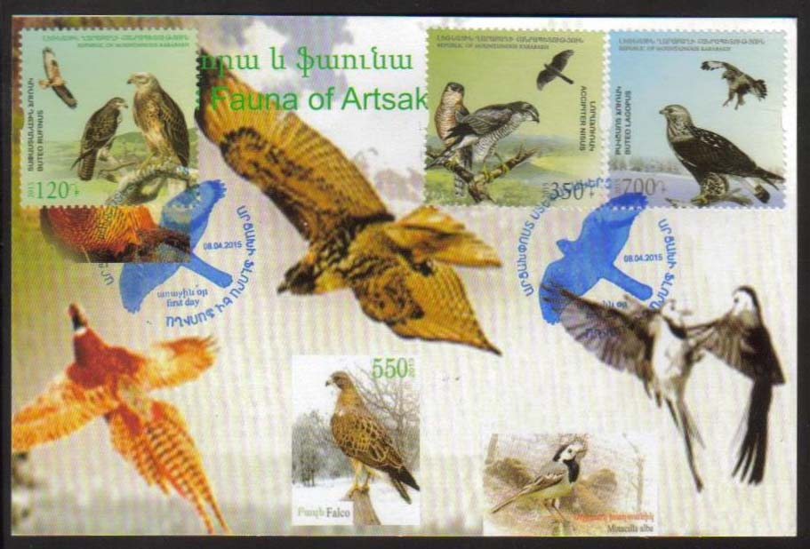 "<Font 3-103M>Nagorno Karabakh #103-105, 2015 issue, Flora and Fauna of Artsakh, Maxi Card<br><a href=""/images/KA-103-105-Maxi.jpg"">   <font color=green><b>View the image</b></a></font>"