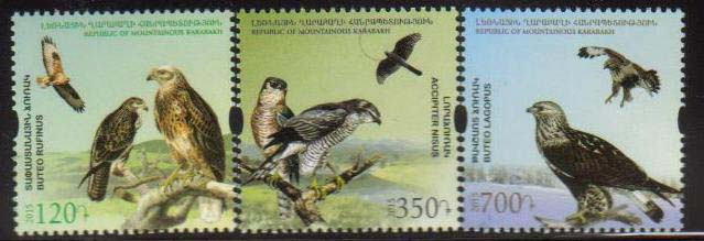 "<Font 1-103>Nagorno Karabakh #103-105, 2015 issue, Flora and Fauna of Artsakh, A set of 3 stamps<br><a href=""/images/KA-103-105.jpg"">   <font color=green><b>View the image</b></a></font>"