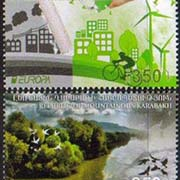 "<Font 1-121><br>Nagorno Karabakh #121-122, 2016 issue, Europa, Think Green<br>A set of 2 stamps<br><a href=""/images/KA-121-122.jpg"">   <font color=green><b>View the image</b></a></font><br>"