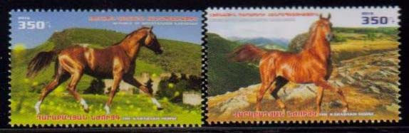 <Font 1-126><br>Nagorno Karabakh #126-127, 2016 issue, Native Horses<br>A set of 2<br><a href=&quot;/images/KA-126-127.jpg&quot;>   <font color=green><b>View the image</b></a></font><br>