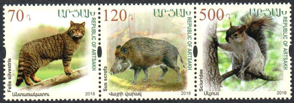 "<Font 1-165>Artsakh #165-167, Endangered animals of Artsakh, set of 3<br><a href=""/images/KA-165-167.jpg"">   <font color=green><b>View the image</b></a></font>"