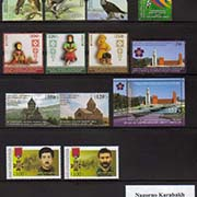 "<Font 0-year-2015><font color=red><b>Nagorno Karabakh 2015 Complete Year set</font></b> 14 stamps and one Souvenir Sheet<br><a href=""/images/KA-2015-Year.jpg"">   <font color=green><b>View the image</b></a></font>"