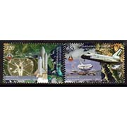 "<Font 1-063>Nagorno Karabakh #63-4, Space Shuttle, 30th anniversary, the last voyage, Set of 2 stamps<br><a href=""/images/KA-63-64.jpg"">   <font color=green><b>View the image</b></a></font>"